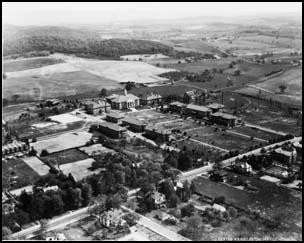 aerial view, ca. 1932